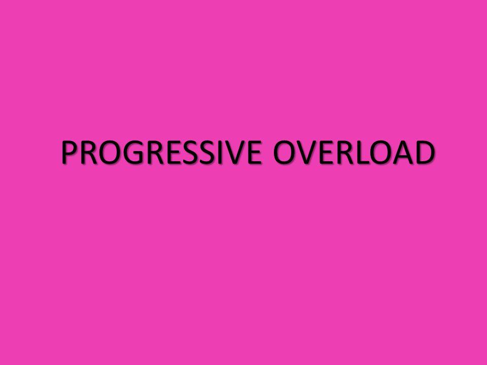 PROGRESSIVE OVERLOAD