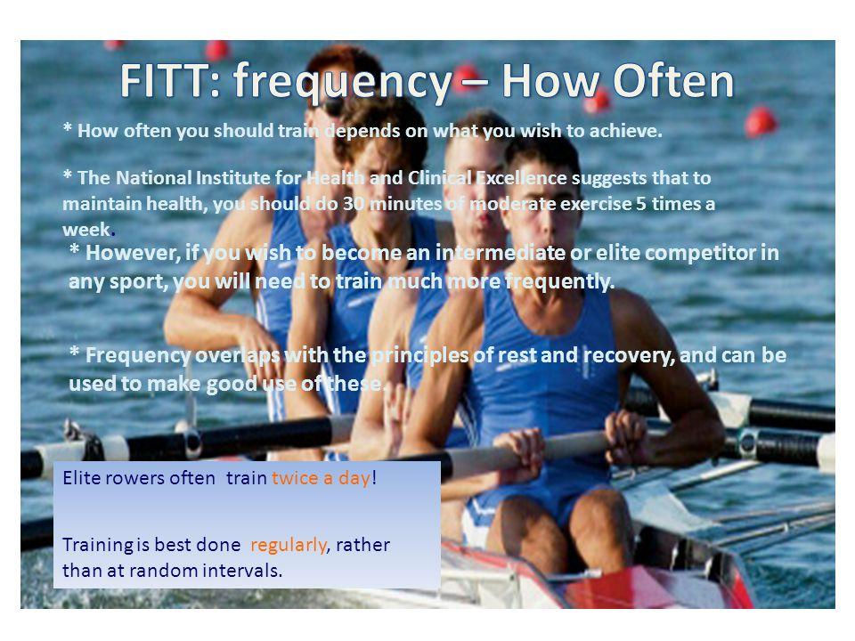 FITT: frequency – How Often