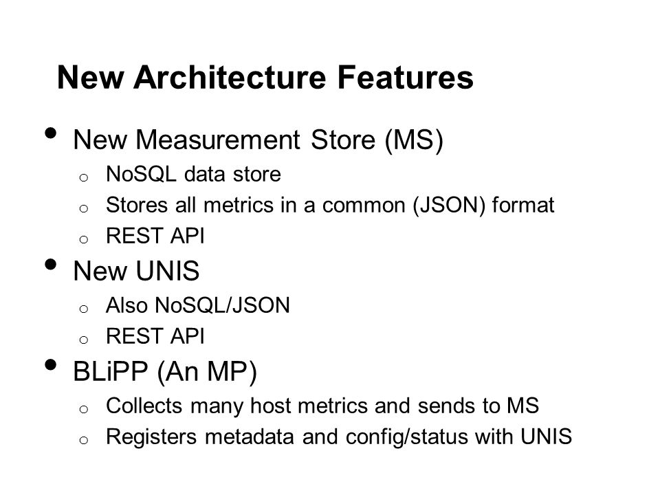 New Architecture Features