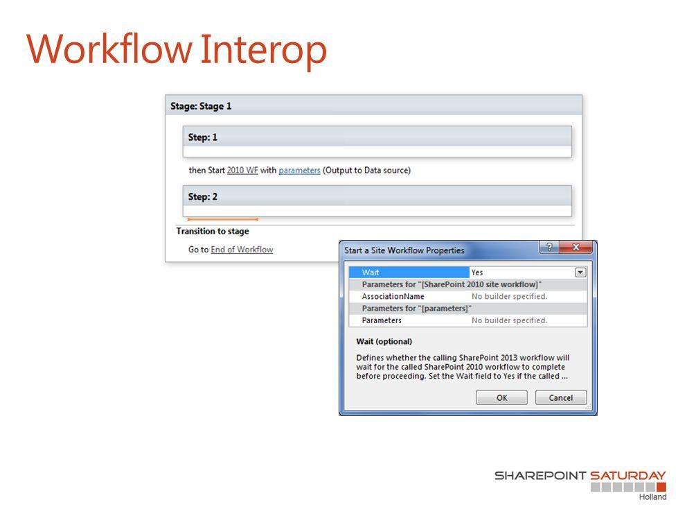 Workflow Interop