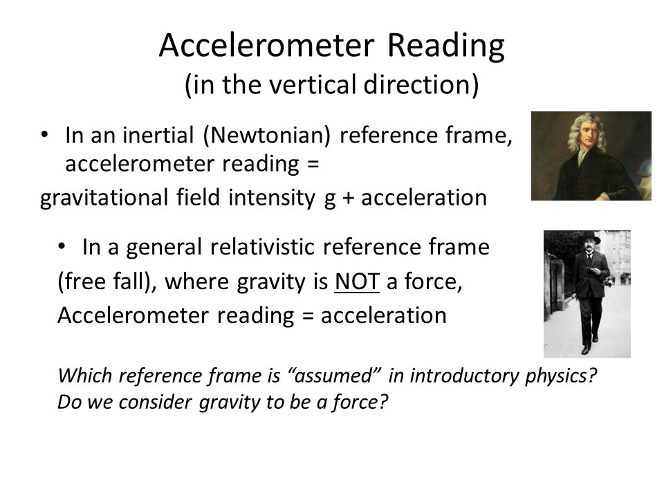 Accelerometer Reading (in the vertical direction)