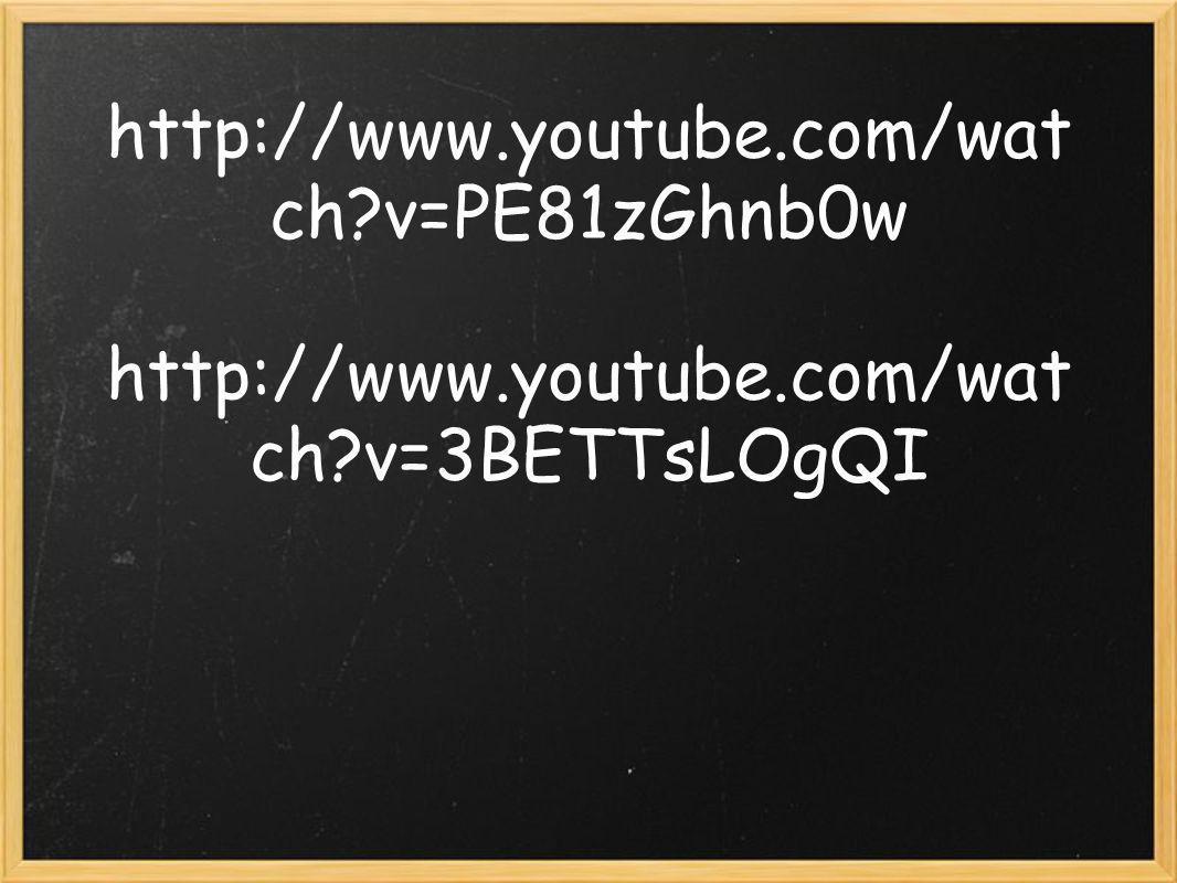 http://www. youtube. com/watch. v=PE81zGhnb0w http://www. youtube