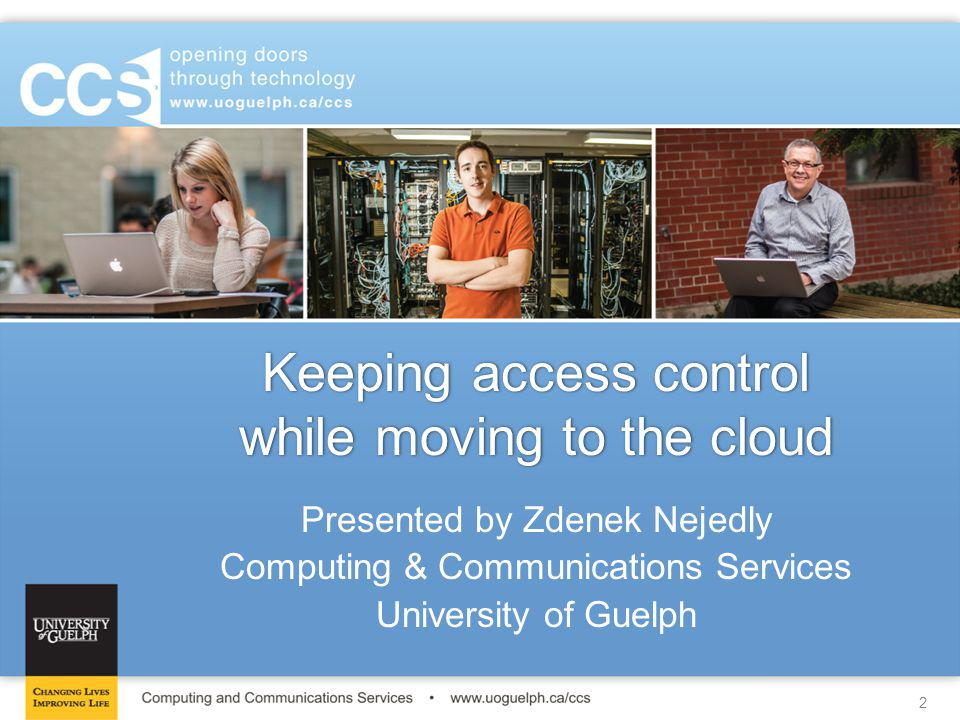 Keeping access control while moving to the cloud