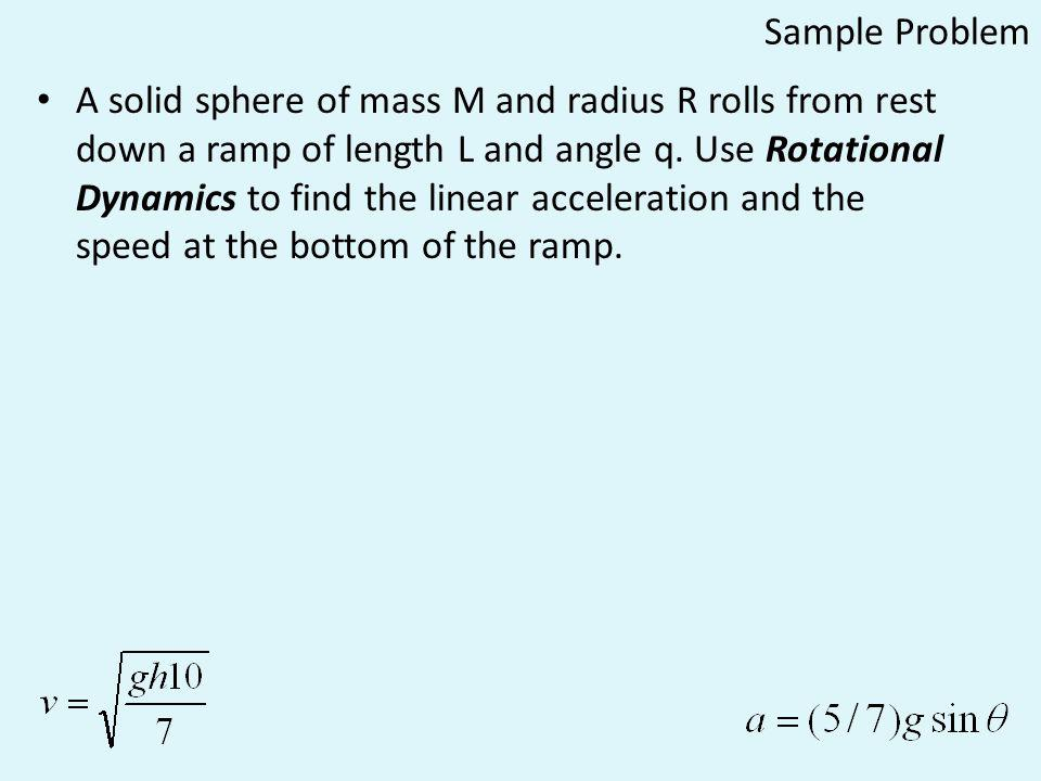 Physics C: Rotational Motion
