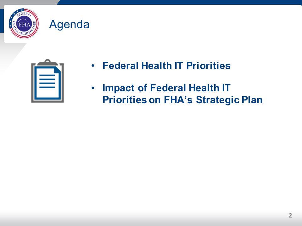 Agenda Federal Health IT Priorities