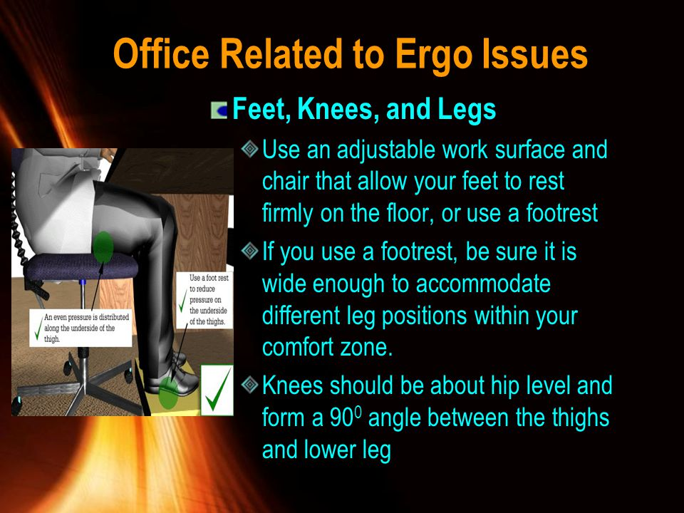 Office Related to Ergo Issues