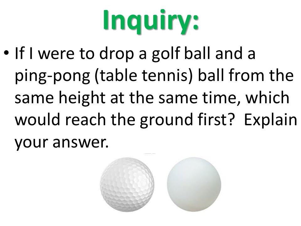 Inquiry:
