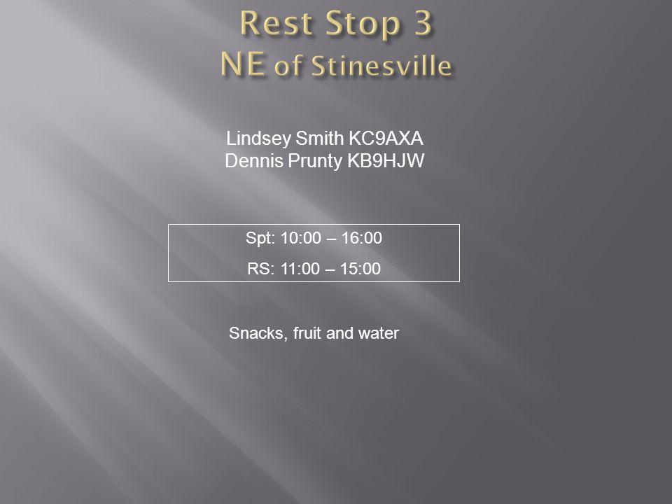 Rest Stop 3 NE of Stinesville
