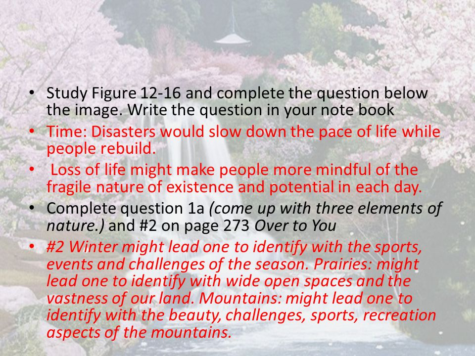 Study Figure 12-16 and complete the question below the image