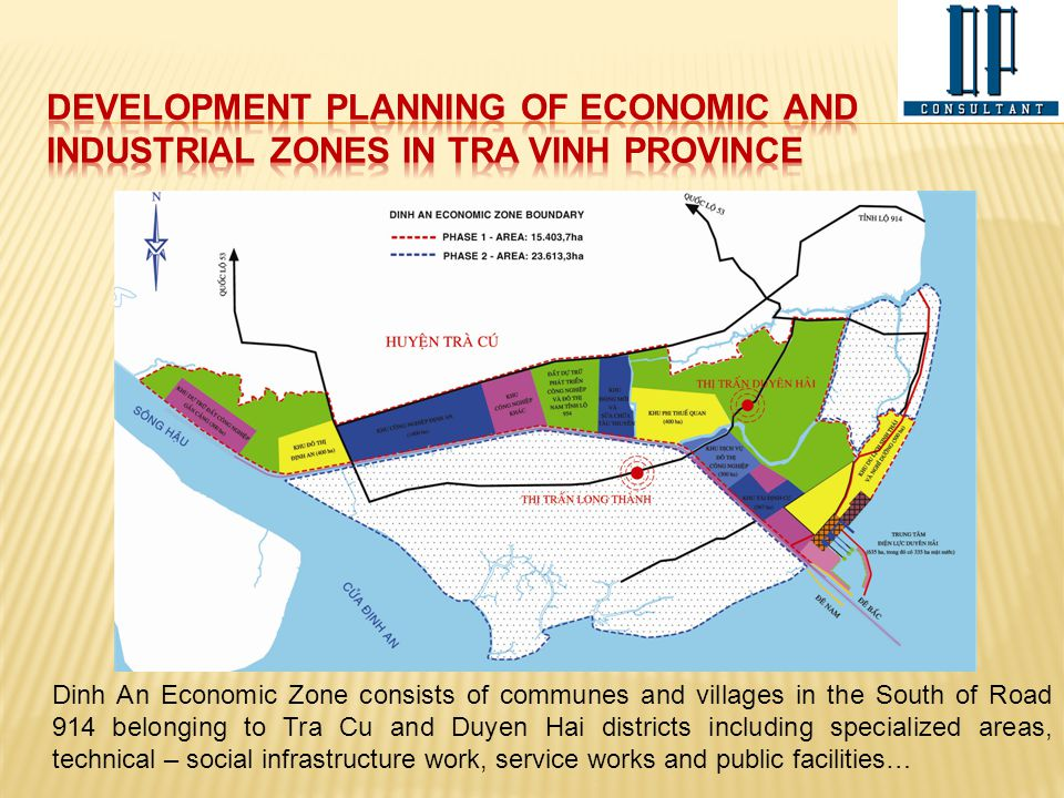 development planning of economic and industrial zones in tra vinh province