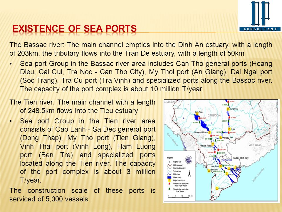 EXISTENCE OF SEA PORTS