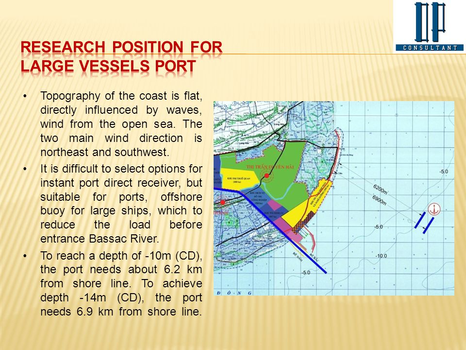 research position for Large vessels port
