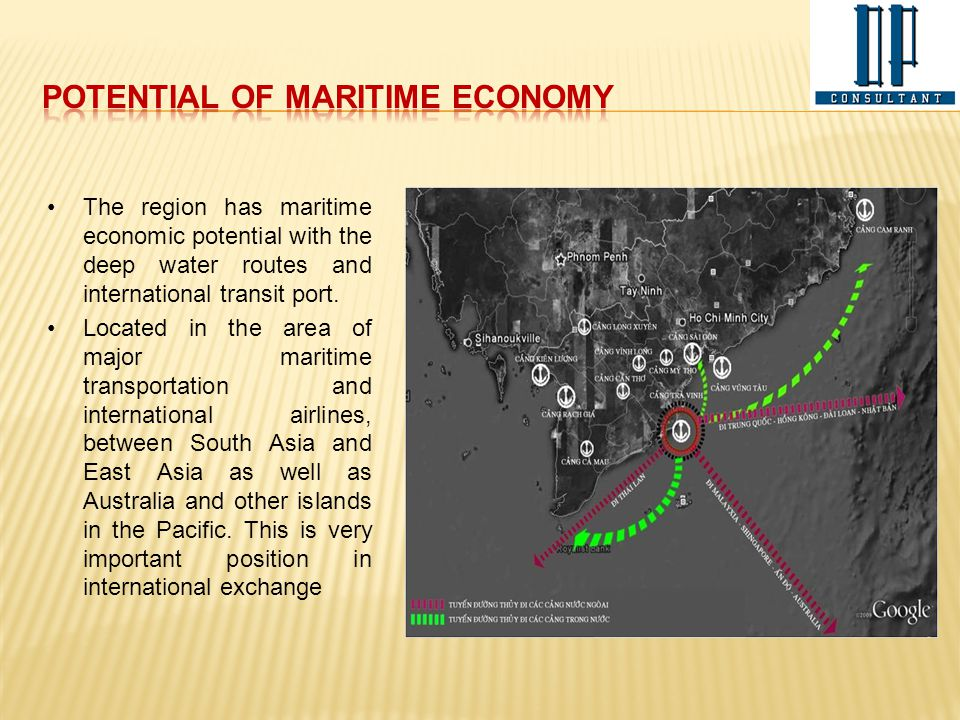 Potential of maritime economy