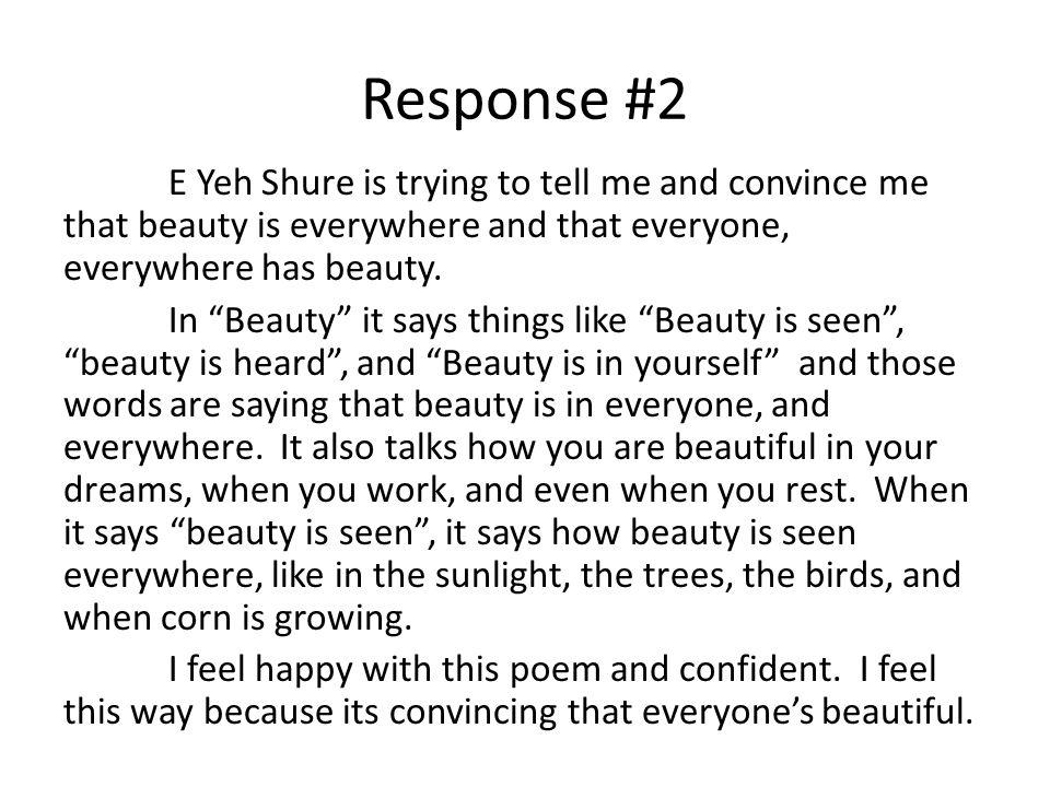 Response #2