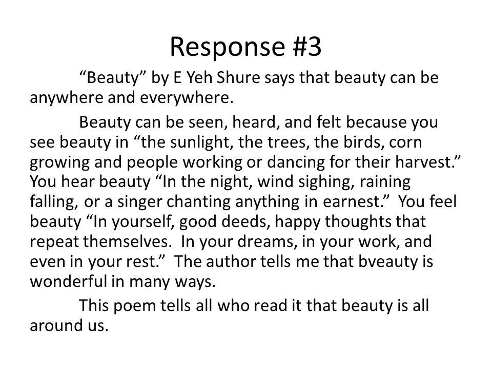 Response #3