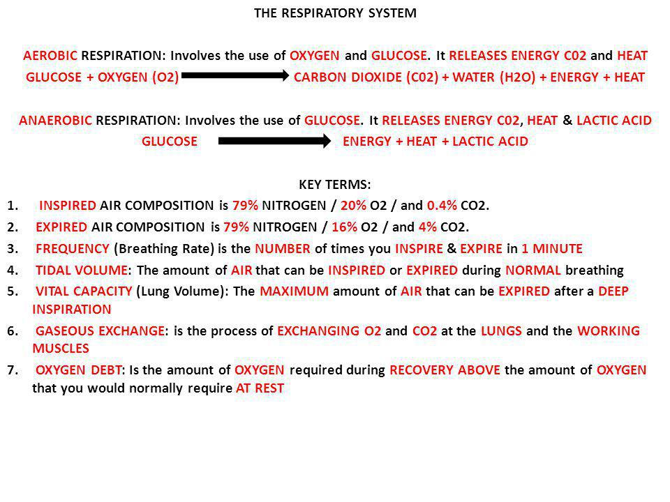 glossary of terms for energy systems heath