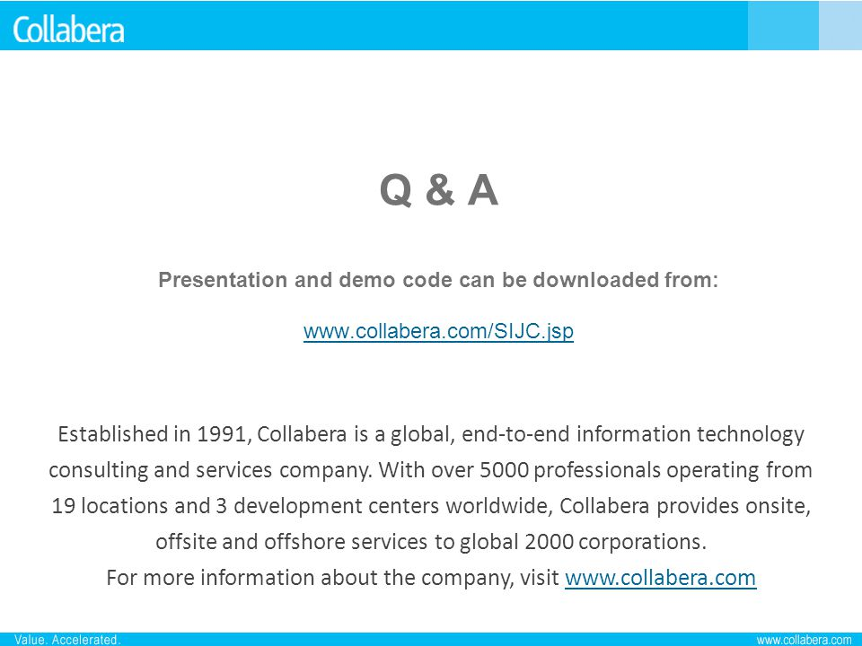 For more information about the company, visit www.collabera.com