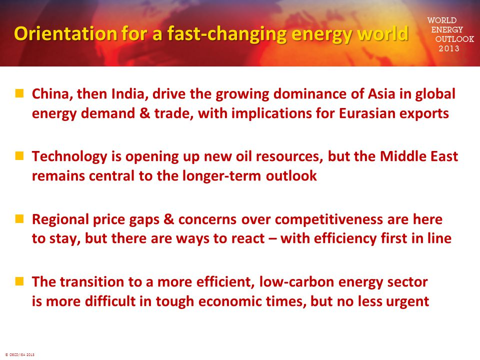 Orientation for a fast-changing energy world