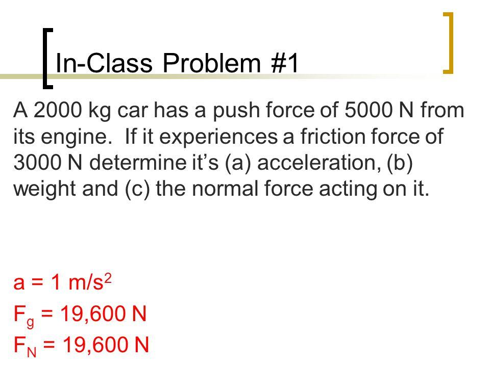 In-Class Problem #1