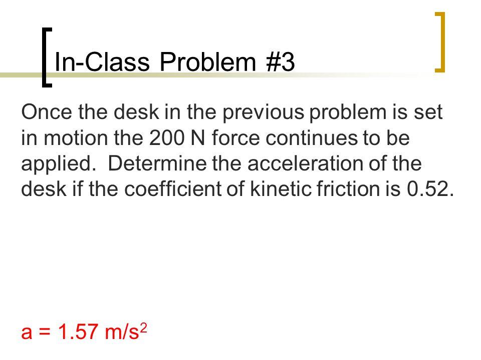 In-Class Problem #3