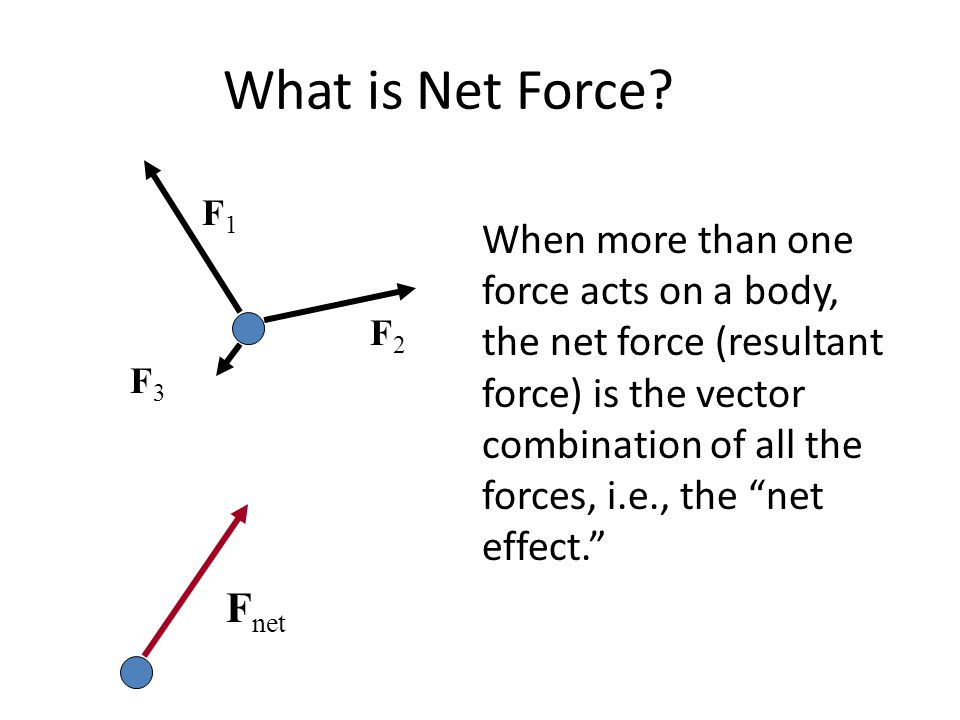 What is Net Force F1.