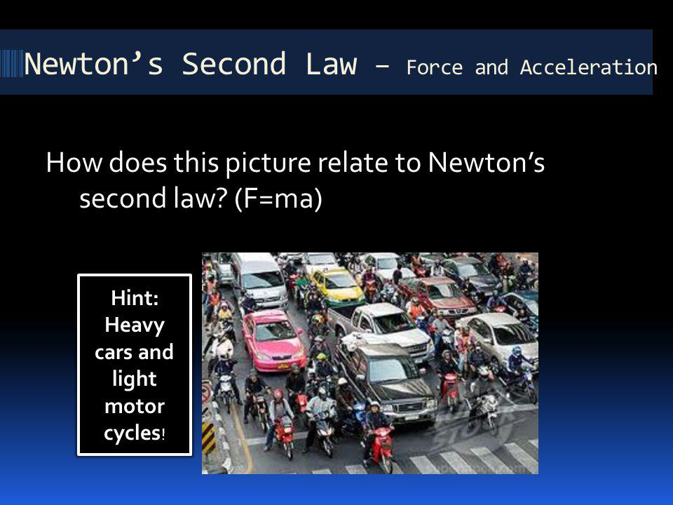 Newton's Second Law – Force and Acceleration