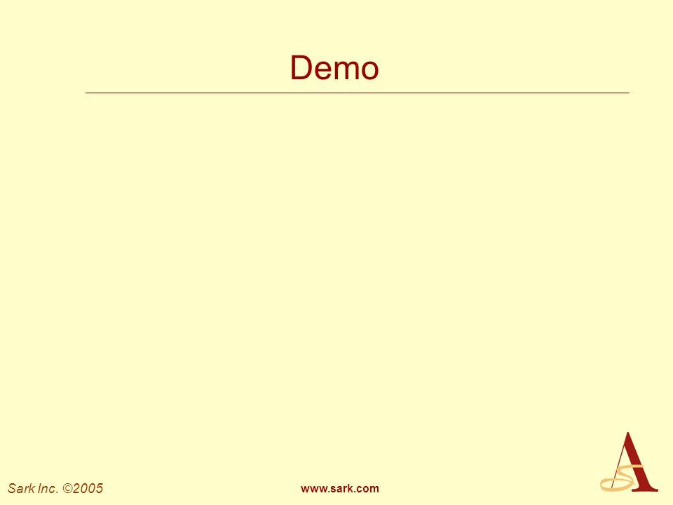 Demo www.sark.com