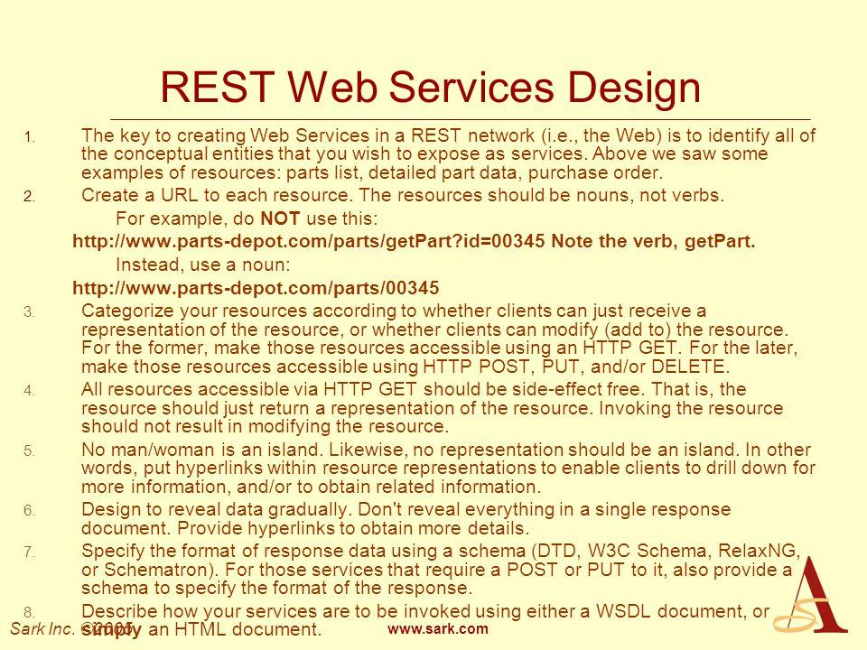 REST Web Services Design