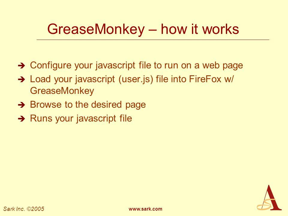GreaseMonkey – how it works
