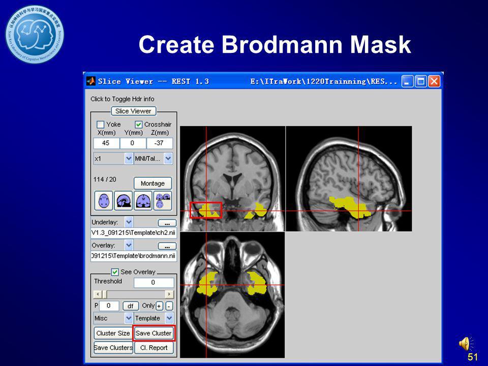 Create Brodmann Mask 51