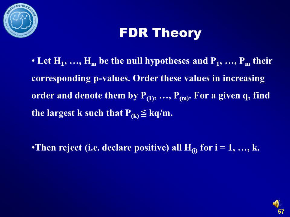 FDR Theory