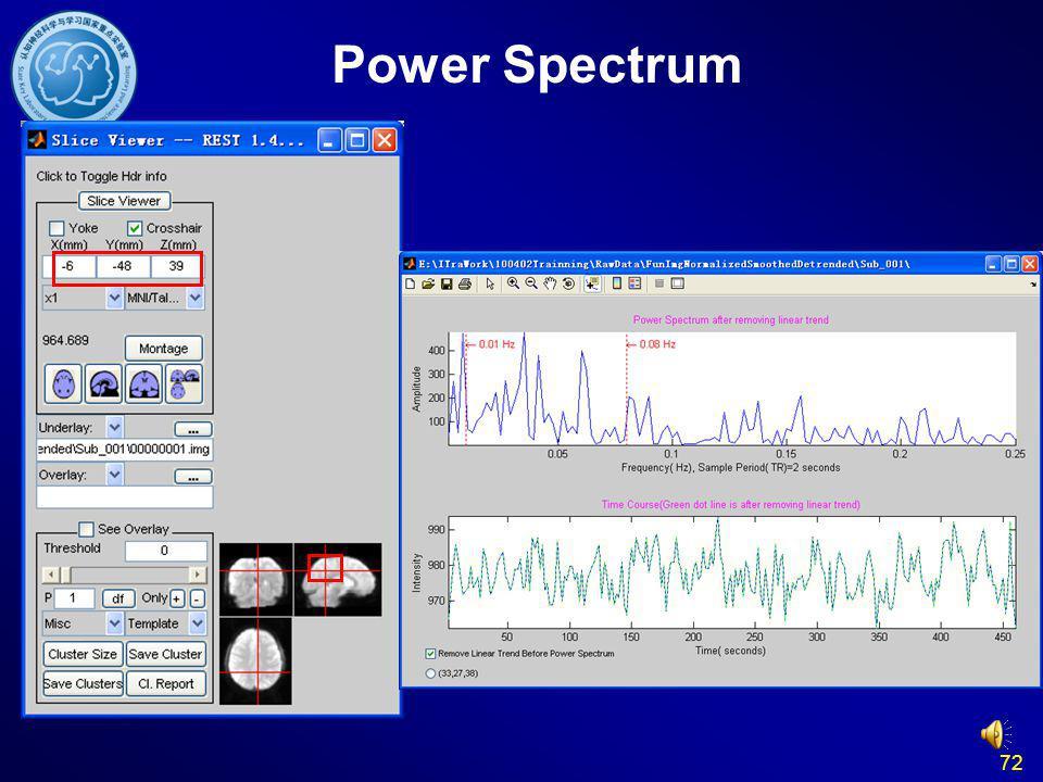 Power Spectrum 72