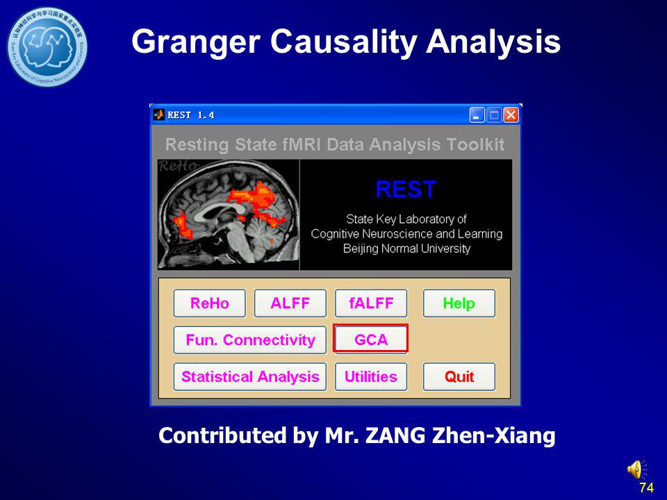 Granger Causality Analysis Contributed by Mr. ZANG Zhen-Xiang