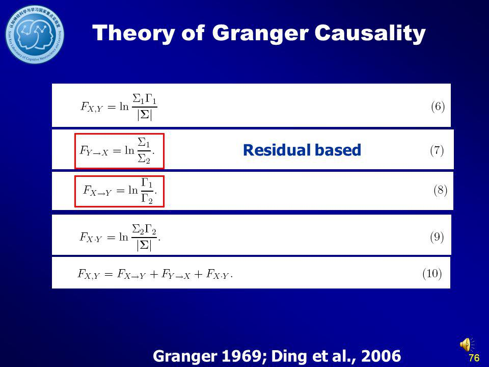 Theory of Granger Causality
