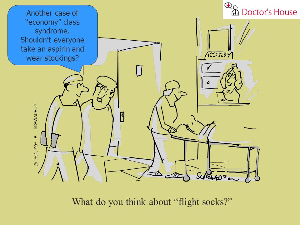 What do you think about flight socks