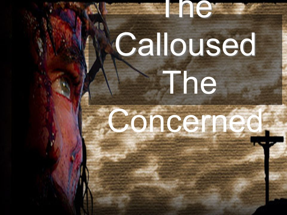 The Calloused The Concerned