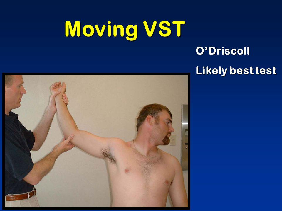 Moving VST O'Driscoll Likely best test
