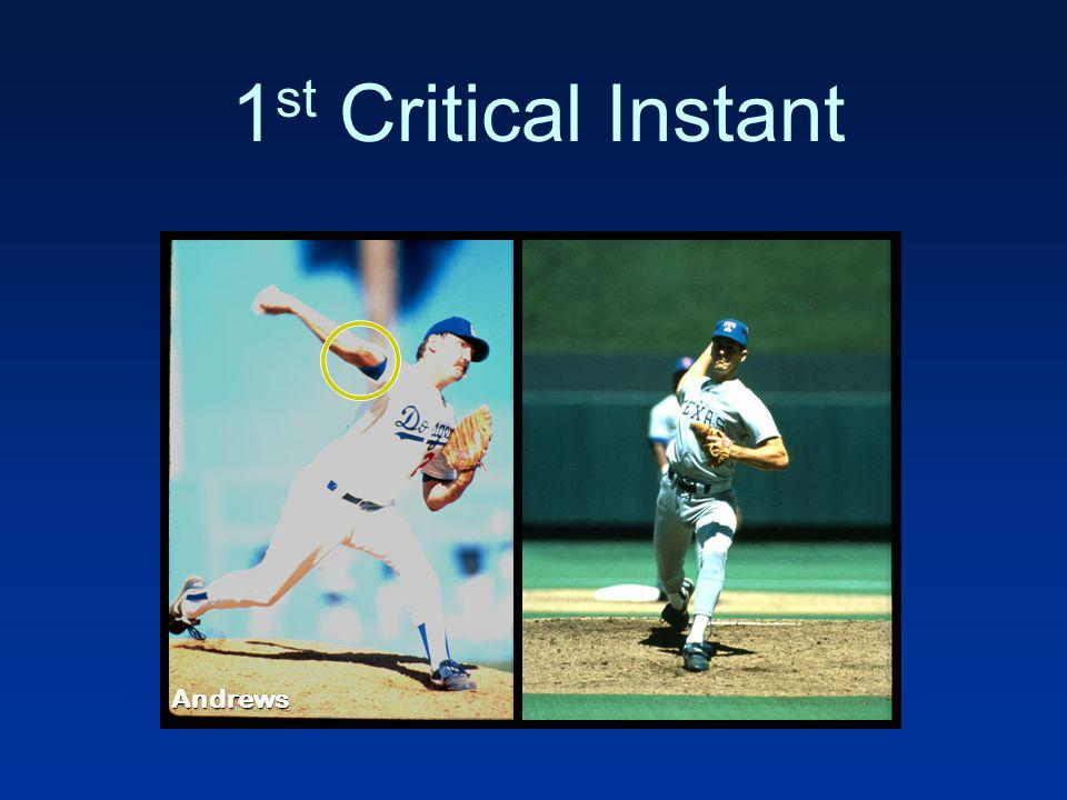 1st Critical Instant Andrews
