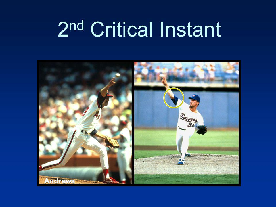 2nd Critical Instant Andrews