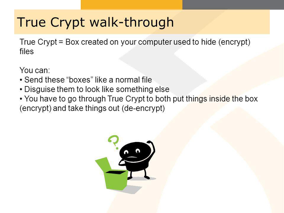 True Crypt walk-through