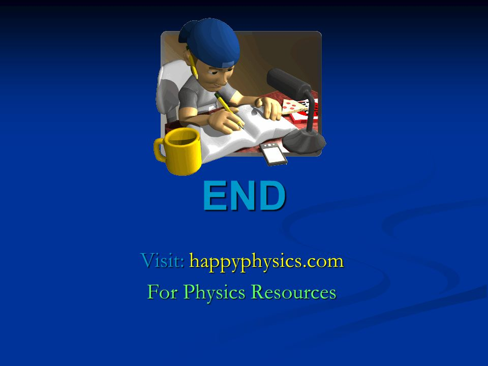 Visit: happyphysics.com For Physics Resources