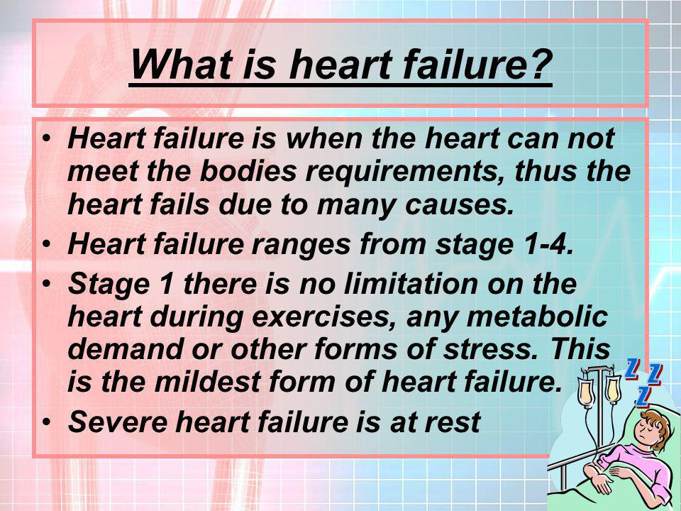 What is heart failure Z Z Z