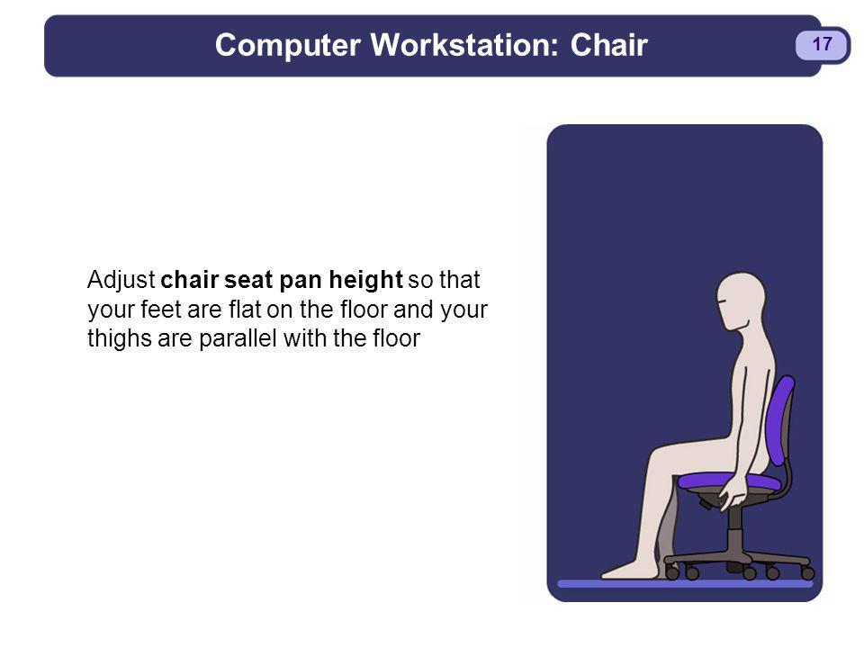 Computer Workstation: Chair