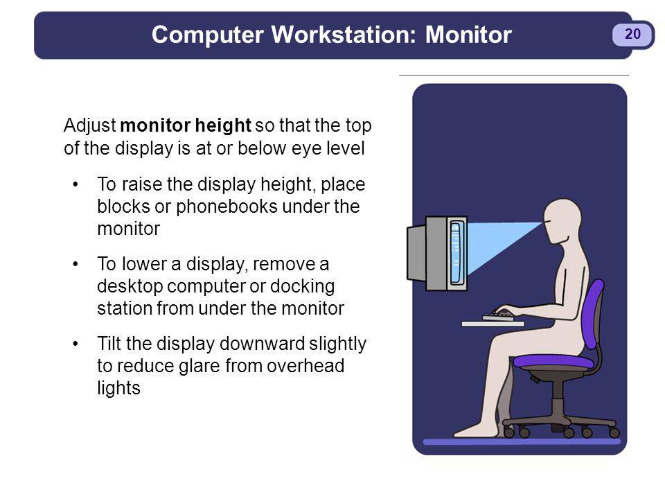 Computer Workstation: Monitor
