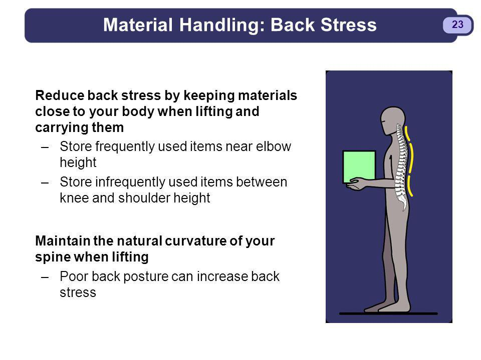 Material Handling: Back Stress