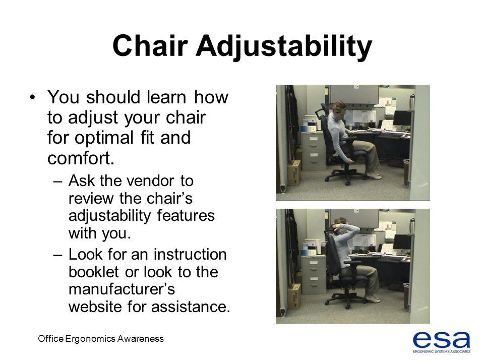 Office Ergonomics Awareness