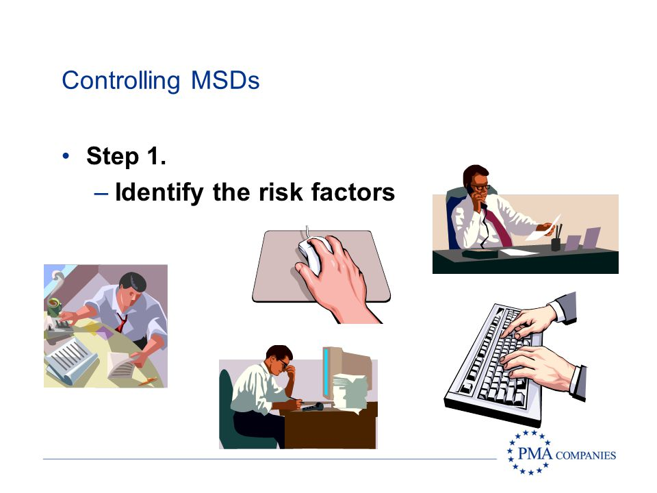 Identify the risk factors