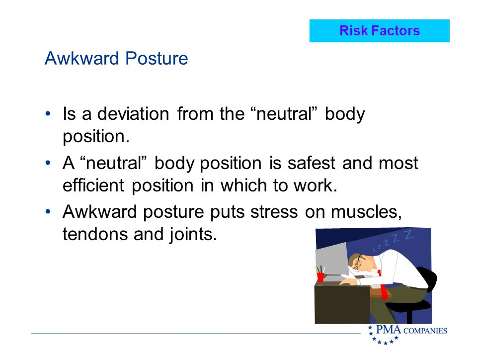 Is a deviation from the neutral body position.