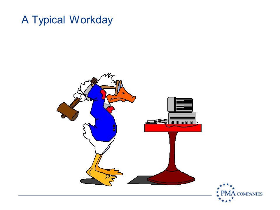 A Typical Workday