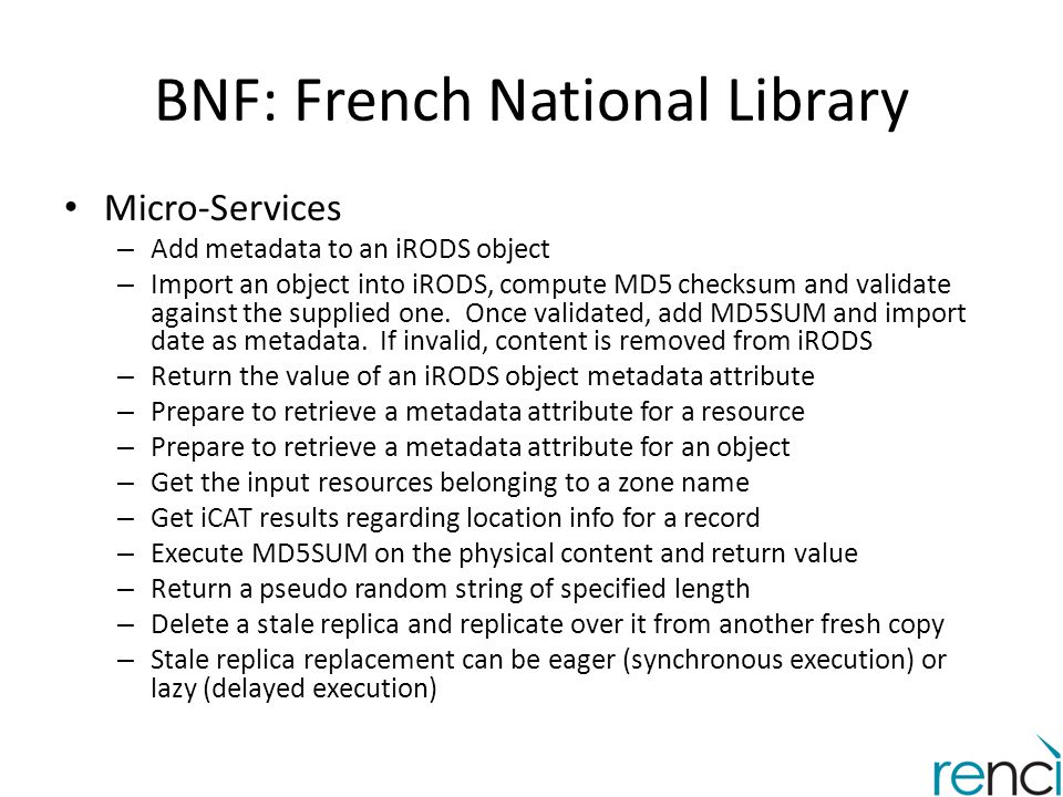 BNF: French National Library